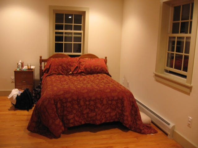 Keith & Chrissie's guest bedroom in Canaan, NY