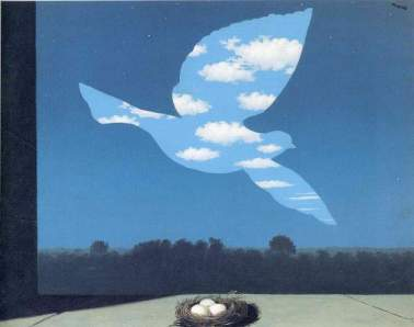 The Infinite Recognition by René Magritte