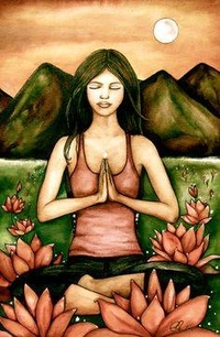 Anjali Mudra by Claudia Tremblay