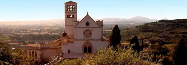 Basilica Facciata, Assisi, Italy